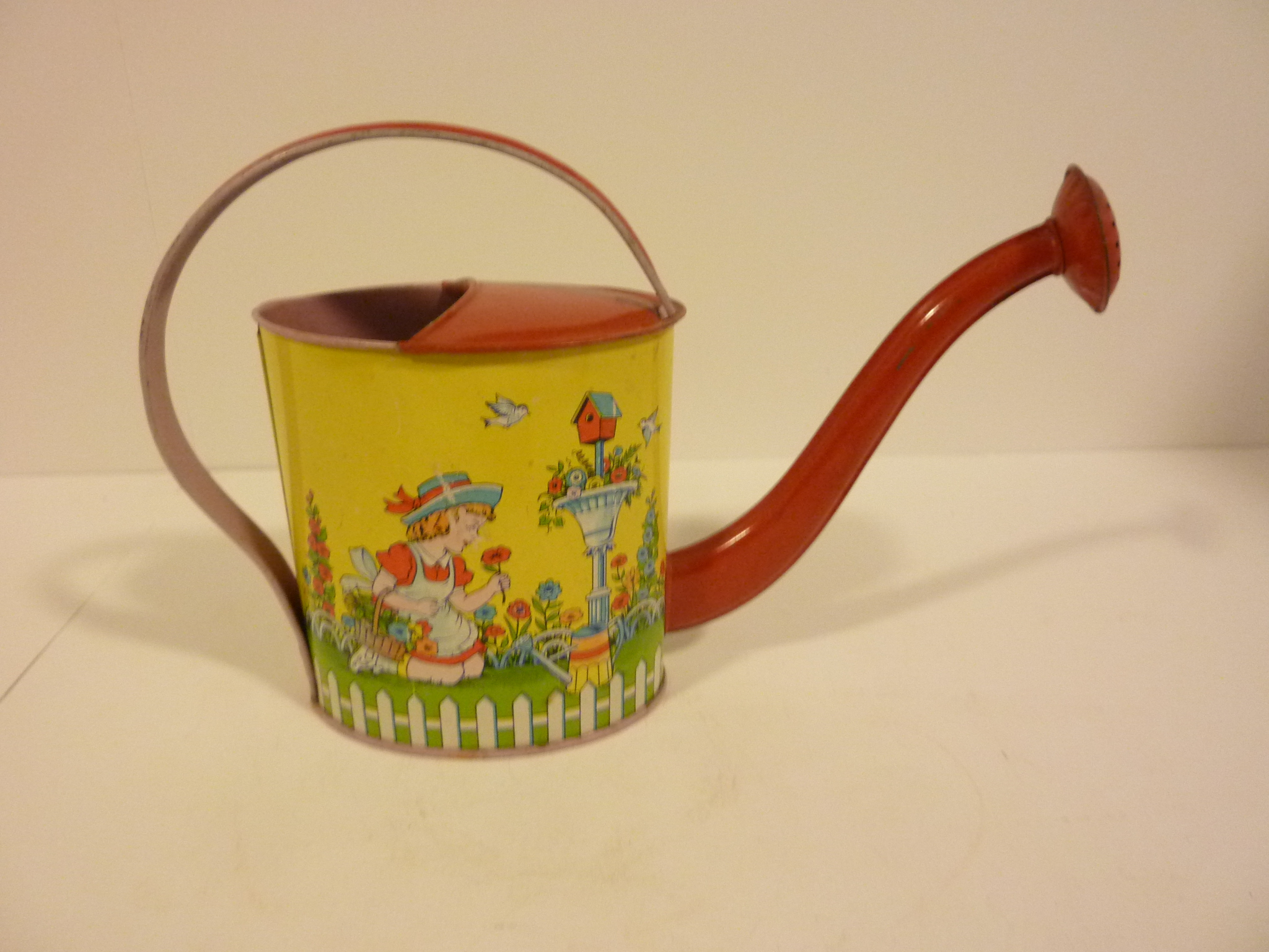 Original Chein Watering Can 1940 S 7 Inches Tall