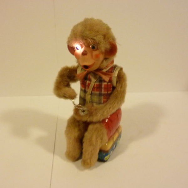 Original Battery Operated Monkey Blowing Bubbles